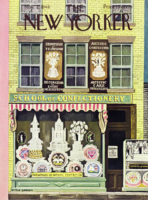 Painting - New Yorker March 2nd 1946 by Witold Gordon