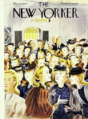 Painting - New Yorker March 8th 1947 by Constantin Alajalov
