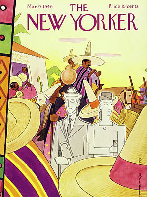 Painting - New Yorker March 9th 1946 by Rea Irvin