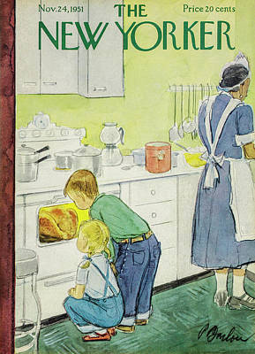 Painting - New Yorker November 24, 1951 by Perry Barlow