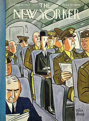 Painting - New Yorker September 18th 1943 by Peter Arno