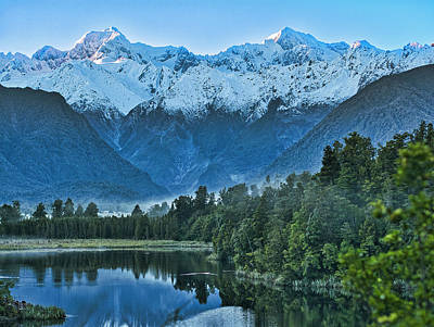 Photograph - New Zealand Alps 2 by Steven Ralser