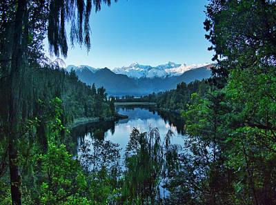 Photograph - New Zealand Alps 3 by Steven Ralser