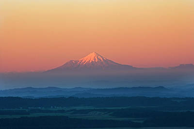Photograph - New Zealand, Mount Taranaki by Frans Lemmens