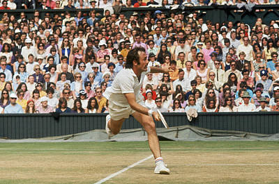 Photograph - Newcombe In Mens Final by Frank Tewkesbury