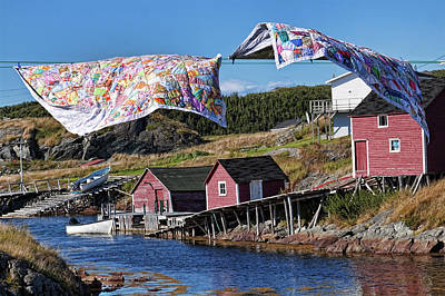 Photograph - Newfoundland Quilts by Tatiana Travelways
