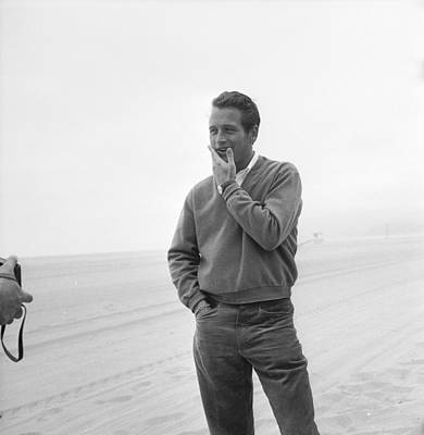 Photograph - Newman Poses by Hulton Archive