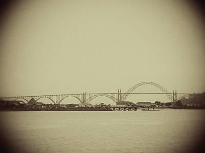 Photograph - Newport Oregon Bridge by Rebecca Cozart