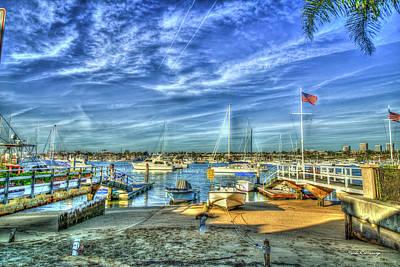 Photograph - Ever Ready Newport Bay Harbor Southern California Art by Reid Callaway