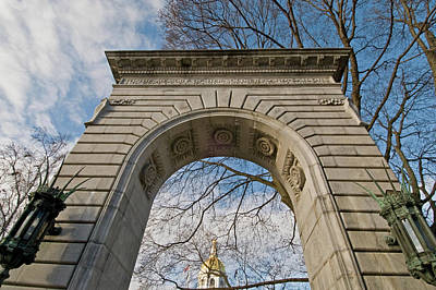 Photograph - Nh Capital Arch by Paul Mangold