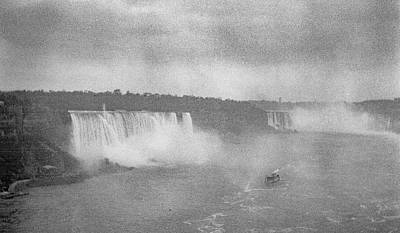 Painting - Niagara Falls 1920 by Celestial Images