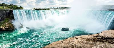 Painting - Niagara Falls As Seen From Canadian Side by Celestial Images