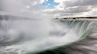 Painting - Niagara Falls In The Morning by Celestial Images