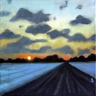 Painting - Niagara Sky #3 by Sarah Lynch
