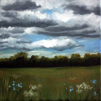 Painting - Niagara Sky #2 by Sarah Lynch