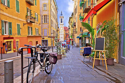 Kitchen Mark Rogan - Nice colorful street architecture and church view by Brch Photography