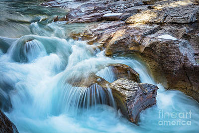 Photograph - Nigel Creek Cascades by Inge Johnsson