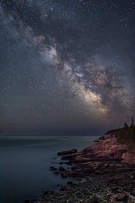 Photograph - Night At Monument Cove by Michael Blanchette