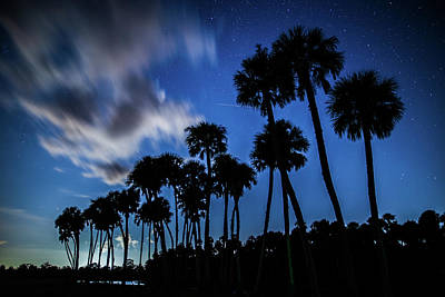 Photograph - Night Clouds Over Econ River by Stefan Mazzola