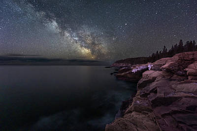 Photograph - Night Coast by Michael Blanchette