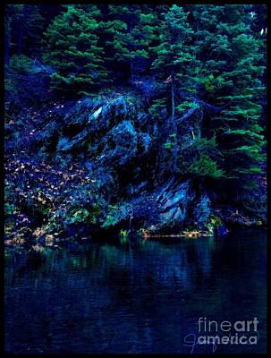 Photograph - Night Fall Drama by Jennifer Lake