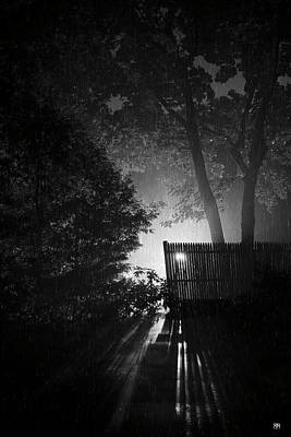 Photograph - Night Shower by John Meader