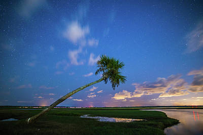 Photograph - Night Sky Over St Johns River by Stefan Mazzola