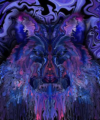 Digital Art - Night Watchman by Mark Taylor