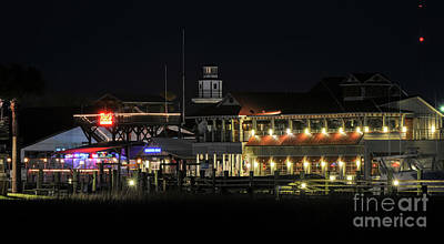 Photograph - Nightlife On The Creek by Dale Powell