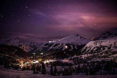 Photograph - Nighttime Illumination Above Sunshine by Ascentxmedia