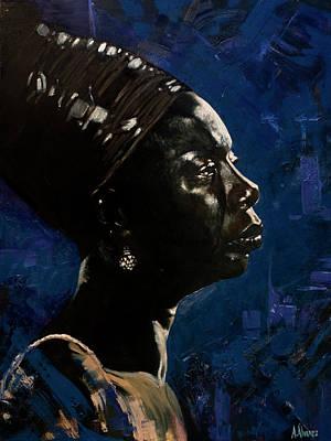 Painting - Nina II by Andres Alvarez