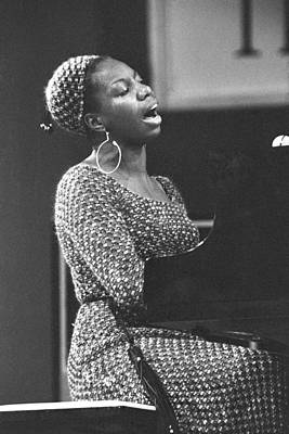 Photograph - Nina Simone At Newport Jazz by Tom Copi