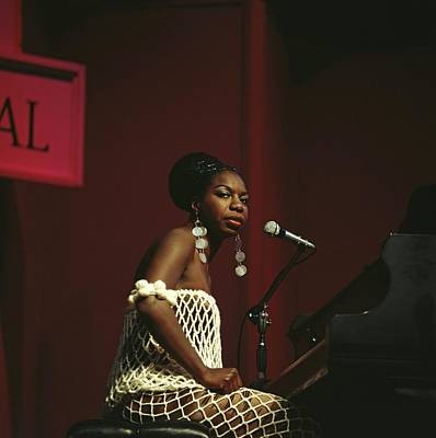 Photograph - Nina Simone by David Redfern