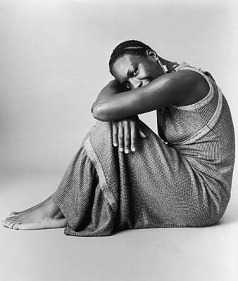 Photograph - Nina Simone by Hulton Archive