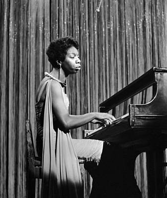 Photograph - Nina Simone On Ed Sullivan by Michael Ochs Archives