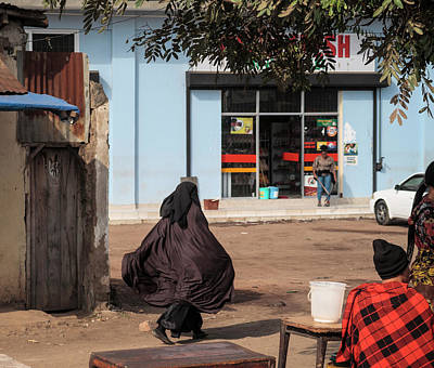 Photograph - Niqab To Maasai Plaid To Jeans by Mary Lee Dereske
