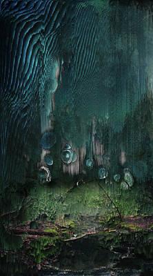 Digital Art - Nitrogen Cycle by Jenny Filipetti