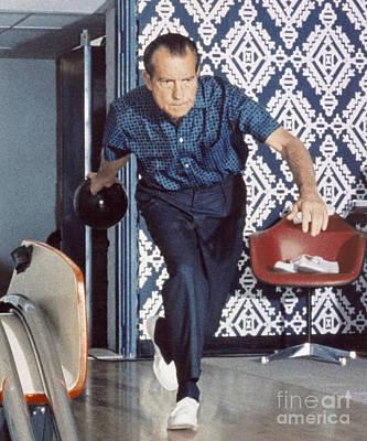 Digital Art - Nixon Bowling by Flippin Sweet Gear