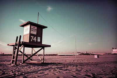 Photograph - No Lifeguard On Duty by Joseph Westrupp