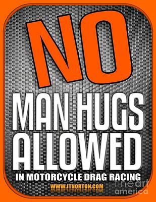 Thomas Kinkade Royalty Free Images - No Man Hugs Royalty-Free Image by Jack Norton