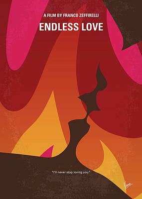 Digital Art - No1023 My Endless Love Minimal Movie Poster by Chungkong Art