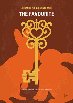 Digital Art - No1037 My The Favourite Minimal Movie Poster by Chungkong Art