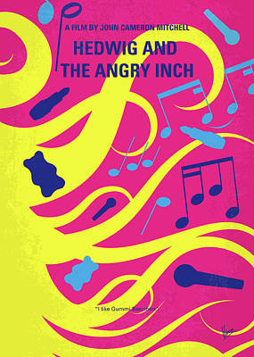 Digital Art - No1046 My Hedwig And The Angry Inch Minimal Movie Poster by Chungkong Art