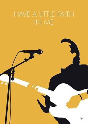 Digital Art - No214 My John Hiatt Minimal Music Poster by Chungkong Art