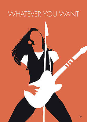 Digital Art - No233 My Status Quo Minimal Music Poster by Chungkong Art