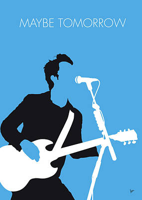 Digital Art - No239 My Stereophonics Minimal Music Poster by Chungkong Art