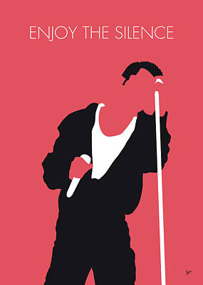 Digital Art - No242 My Depeche Mode Minimal Music Poster by Chungkong Art