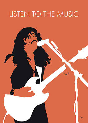 Digital Art - No243 My Doobie Brothers Minimal Music Poster by Chungkong Art