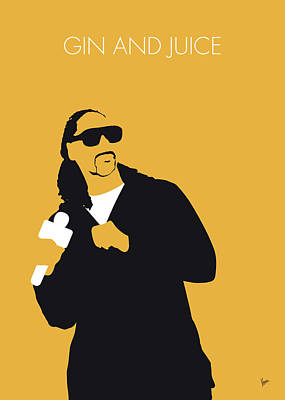 Digital Art - No244 My Snoop Dogg Minimal Music Poster by Chungkong Art