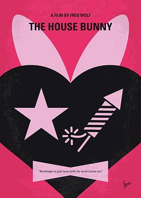Awkward Wall Art - Digital Art - No966 My The House Bunny Minimal Movie Poster by Chungkong Art